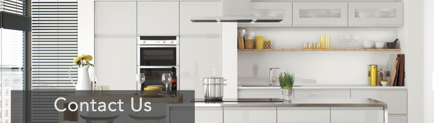 Contact us to arrange a free kitchen design and quotation