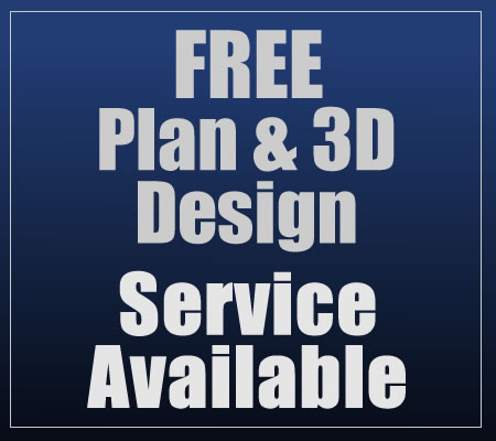 Free plan and 3D design service available
